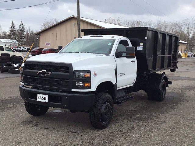 2021 Chevrolet Silverado 6500 Regular Cab DRW 4x4, Switch N Go Drop Box Hooklift Body #21C103T - photo 3