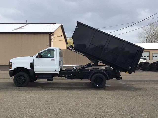 2021 Chevrolet Silverado 6500 Regular Cab DRW 4x4, Switch N Go Drop Box Hooklift Body #21C103T - photo 23