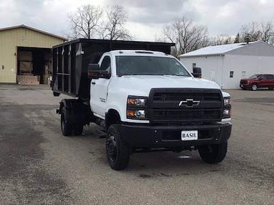 2021 Chevrolet Silverado 6500 Regular Cab DRW 4x4, Switch N Go Drop Box Hooklift Body #21C103T - photo 29