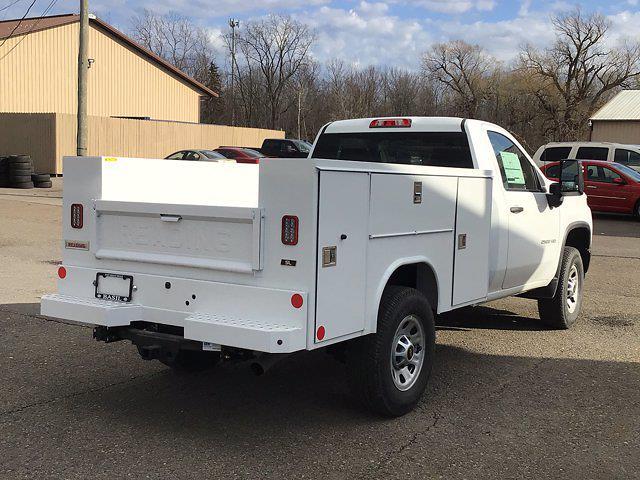 2021 Chevrolet Silverado 2500 Regular Cab 4x4, Reading Service Body #21C109T - photo 1