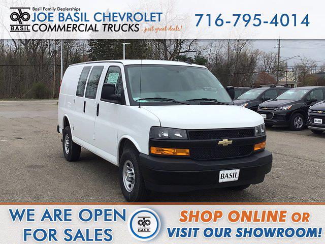 2021 Chevrolet Express 2500 4x2, Adrian Steel Upfitted Cargo Van #21C122T - photo 1