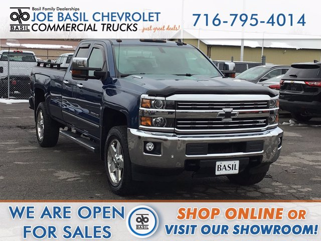 2016 Chevrolet Silverado 2500 Double Cab 4x4, Pickup #21C13TU - photo 1