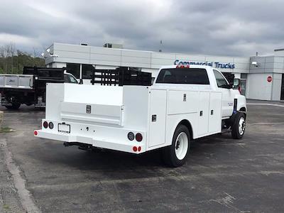 2021 Silverado Medium Duty Regular Cab DRW 4x2,  Warner Truck Bodies Select Pro Service Body #21C192TD - photo 2