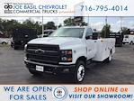2021 Silverado Medium Duty Regular Cab DRW 4x2,  Warner Truck Bodies Select Pro Service Body #21C192TD - photo 1