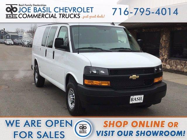 2021 Chevrolet Express 2500 4x2, Adrian Steel Upfitted Cargo Van #21C35T - photo 1