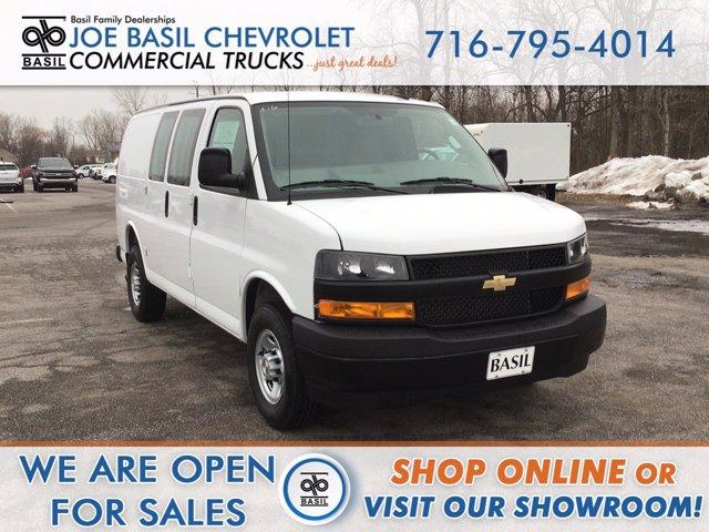 2021 Chevrolet Express 2500 4x2, Upfitted Cargo Van #21C36T - photo 1