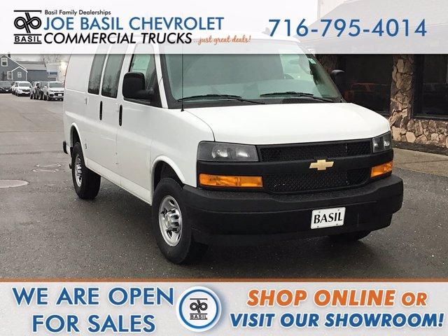2021 Chevrolet Express 2500 4x2, Upfitted Cargo Van #21C46T - photo 1