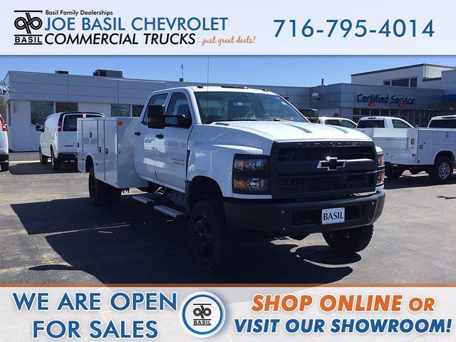 2021 Chevrolet Silverado 5500 Crew Cab DRW 4x4, Knapheide Service Body #21C47T - photo 1