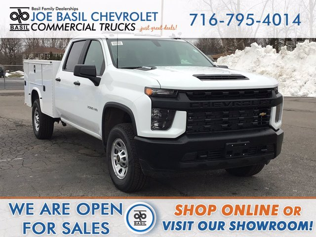 2021 Chevrolet Silverado 3500 Crew Cab 4x4, Service Body #21C4T - photo 1