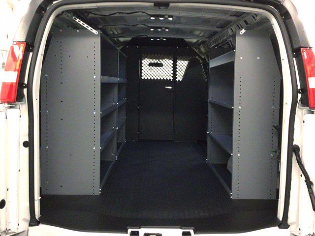 2021 Chevrolet Express 2500 4x2, Masterack Upfitted Cargo Van #21C54T - photo 1
