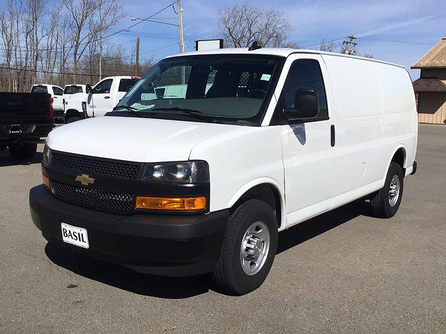 2021 Chevrolet Express 2500 4x2, Masterack General Service Upfitted Cargo Van #21C55T - photo 3