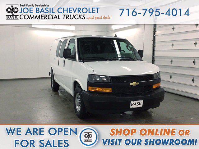 2021 Chevrolet Express 2500 4x2, Masterack Upfitted Cargo Van #21C56T - photo 1