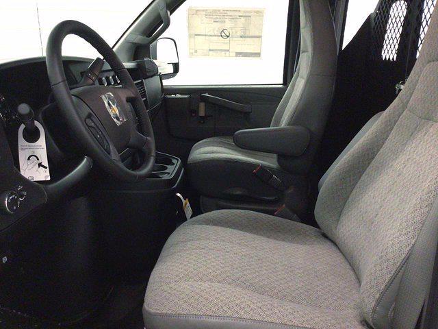 2021 Chevrolet Express 2500 4x2, Masterack General Service Upfitted Cargo Van #21C56T - photo 15