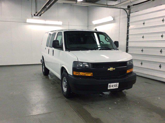 2021 Chevrolet Express 2500 4x2, Masterack General Service Upfitted Cargo Van #21C56T - photo 29