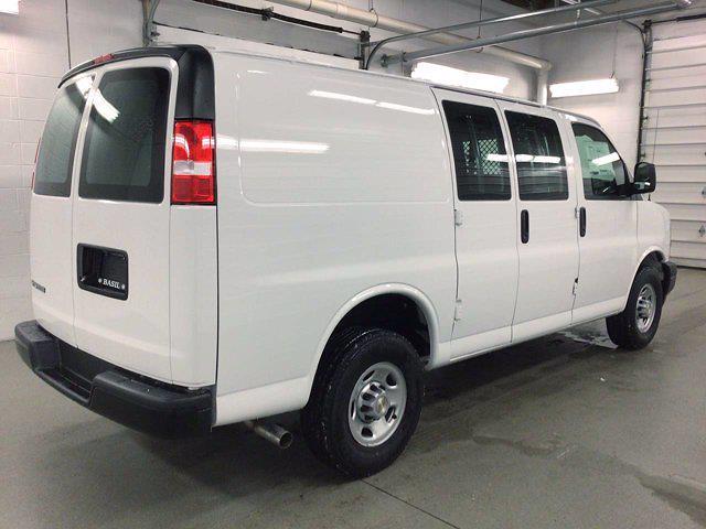 2021 Chevrolet Express 2500 4x2, Masterack General Service Upfitted Cargo Van #21C56T - photo 6
