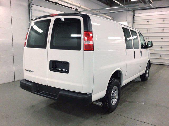 2021 Chevrolet Express 2500 4x2, Masterack General Service Upfitted Cargo Van #21C56T - photo 7