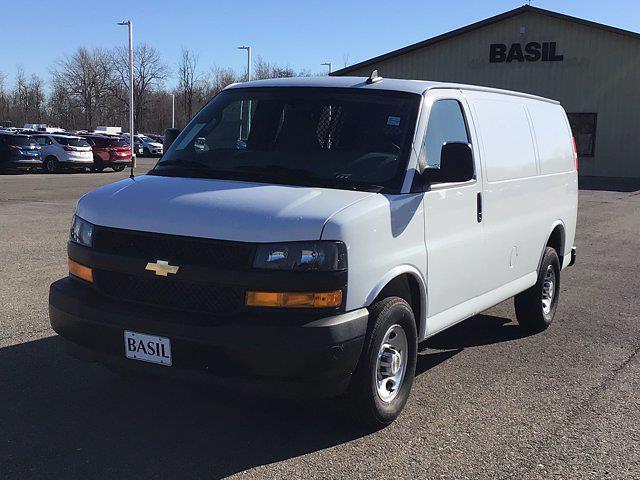 2021 Chevrolet Express 2500 4x2, Masterack General Service Upfitted Cargo Van #21C71T - photo 3