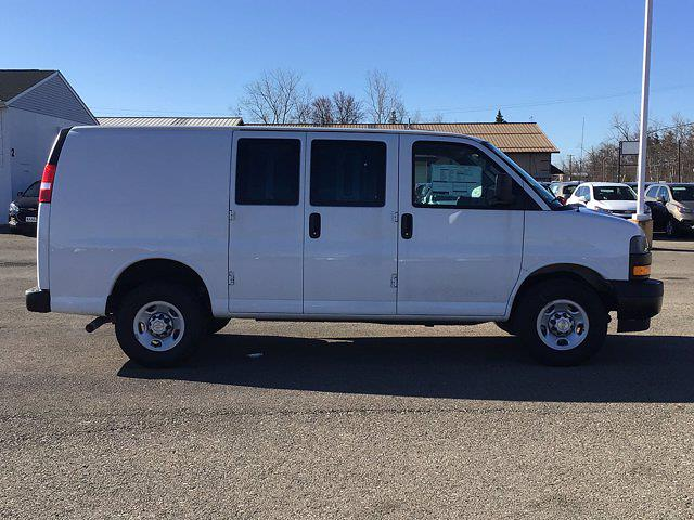 2021 Chevrolet Express 2500 4x2, Masterack General Service Upfitted Cargo Van #21C71T - photo 6