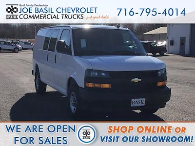 2021 Chevrolet Express 2500 4x2, Masterack General Service Upfitted Cargo Van #21C71T - photo 1
