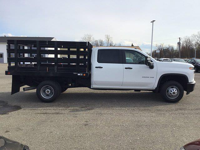 2021 Chevrolet Silverado 3500 Crew Cab AWD, Reading Steel Stake Bed #21C83T - photo 6