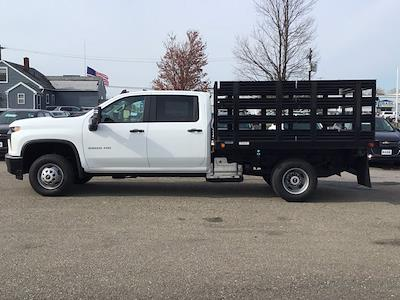 2021 Chevrolet Silverado 3500 Crew Cab AWD, Reading Steel Stake Bed #21C83T - photo 10