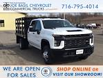 2021 Chevrolet Silverado 3500 Crew Cab AWD, Reading Steel Stake Bed #21C83T - photo 1