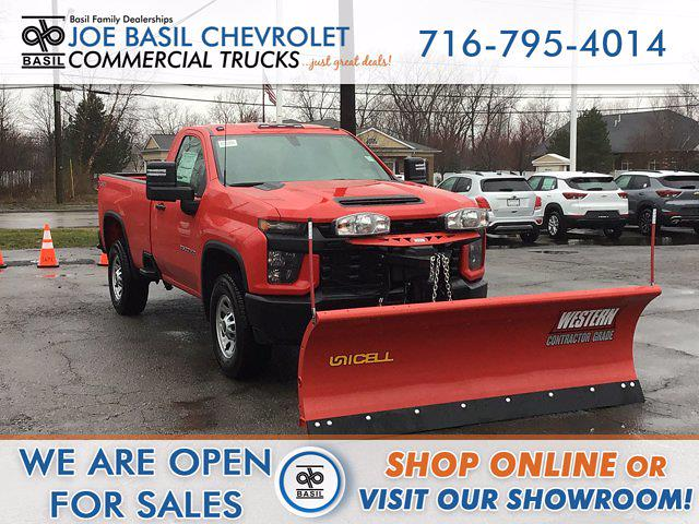 2021 Chevrolet Silverado 2500 Regular Cab 4x4, Western Pickup #21C91T - photo 1