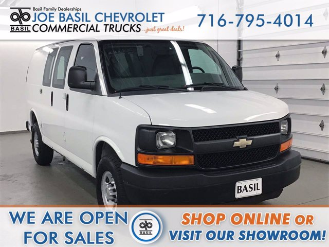 2012 Chevrolet Express 3500 RWD, Empty Cargo Van #FB579A - photo 1