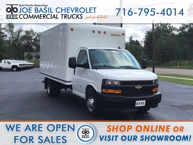 2021 Chevrolet Express 3500 4x2, Cutaway Van #FC254 - photo 1