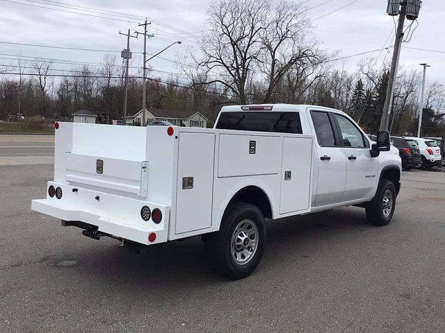 2021 Chevrolet Silverado 2500 Double Cab 4x4, Warner Service Body #FC263 - photo 1