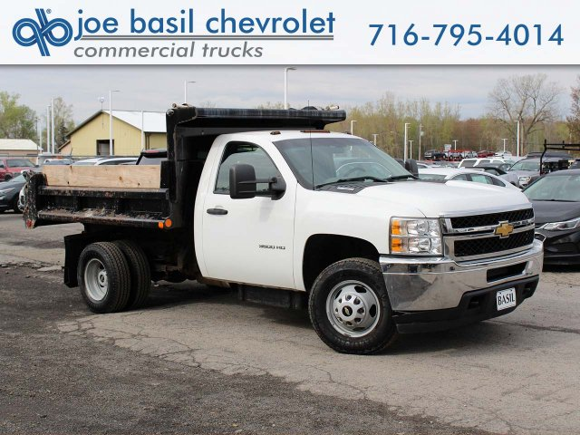 2014 Silverado 3500 Regular Cab 4x4,  Dump Body #H2761 - photo 1