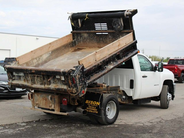 2014 Silverado 3500 Regular Cab 4x4,  Dump Body #H2761 - photo 10