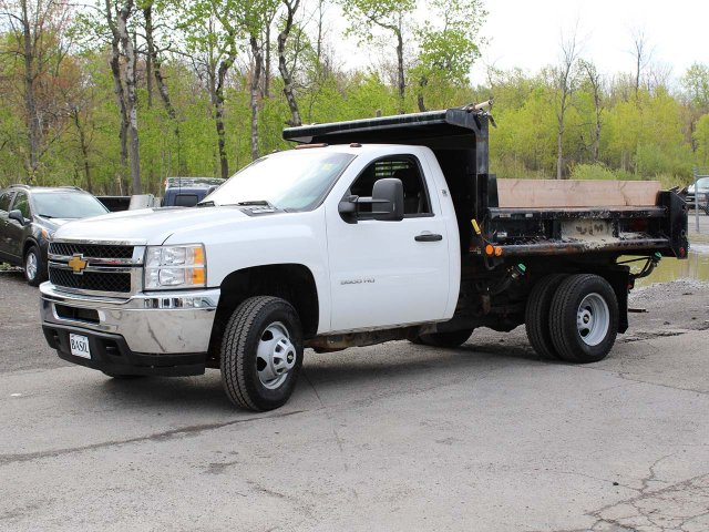 2014 Silverado 3500 Regular Cab 4x4,  Dump Body #H2761 - photo 3