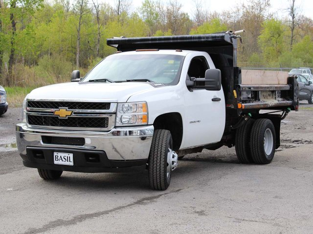 2014 Silverado 3500 Regular Cab 4x4,  Dump Body #H2761 - photo 4