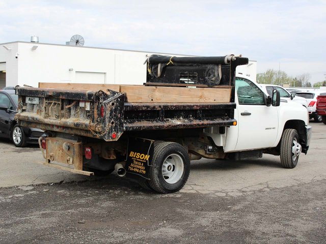 2014 Silverado 3500 Regular Cab 4x4,  Dump Body #H2761 - photo 2
