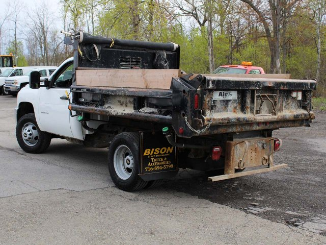 2014 Silverado 3500 Regular Cab 4x4,  Dump Body #H2761 - photo 7