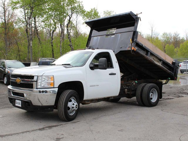 2014 Silverado 3500 Regular Cab 4x4,  Dump Body #H2761 - photo 8