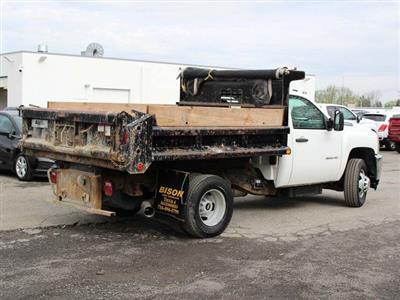 2014 Silverado 3500 Regular Cab 4x4,  Dump Body #H2761 - photo 2