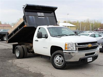 2014 Silverado 3500 Regular Cab 4x4,  Dump Body #H2761 - photo 9