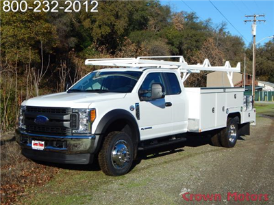 2017 F-550 Super Cab DRW 4x4, Scelzi Combo Bodies Combo Body #17F1023 - photo 1