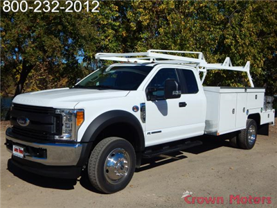 2017 F-550 Super Cab DRW 4x4, Scelzi Combo Bodies Combo Body #17F1032 - photo 1