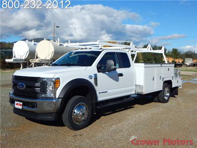 2017 F-550 Super Cab DRW 4x4, Scelzi Combo Bodies Combo Body #17F1068 - photo 1