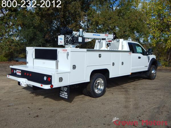 2017 F-550 Super Cab DRW 4x4, Scelzi Mechanics Body #17F1069 - photo 12
