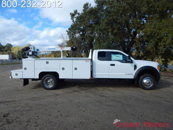 2017 F-550 Super Cab DRW 4x4,  Scelzi Mechanics Body #17F1069 - photo 14