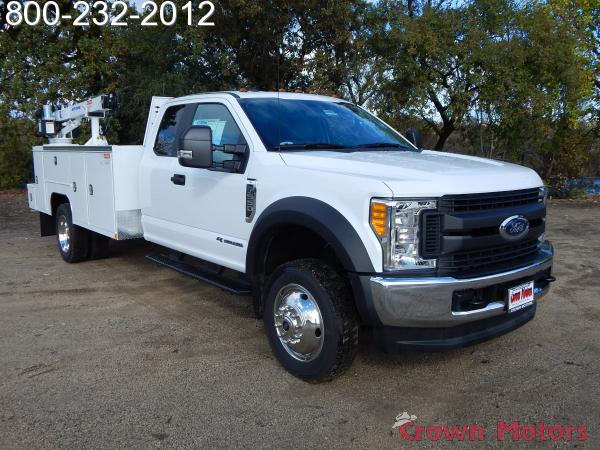 2017 F-550 Super Cab DRW 4x4, Scelzi Mechanics Body #17F1069 - photo 15