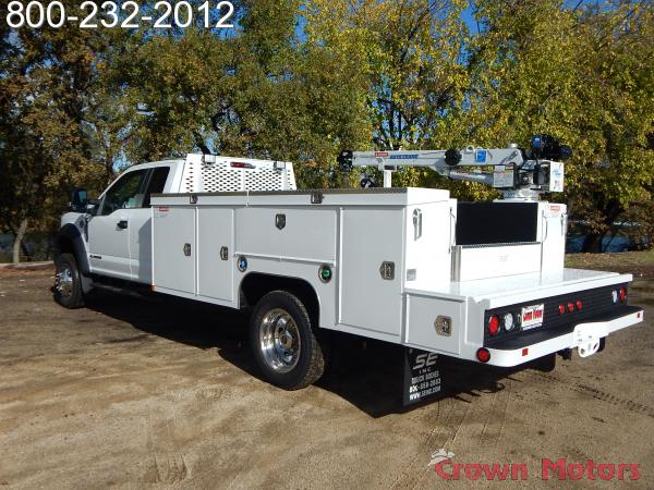 2017 F-550 Super Cab DRW 4x4, Scelzi Mechanics Body #17F1069 - photo 2