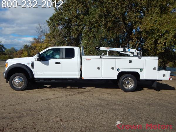 2017 F-550 Super Cab DRW 4x4,  Scelzi Mechanics Body #17F1069 - photo 3
