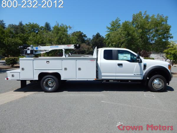 2017 F-550 Super Cab DRW 4x4,  Scelzi Mechanics Body #17F1094 - photo 13