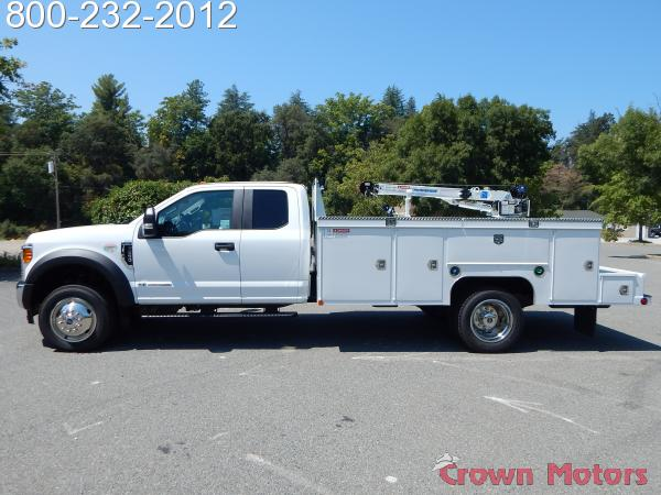 2017 F-550 Super Cab DRW 4x4, Scelzi Mechanics Body #17F1094 - photo 3
