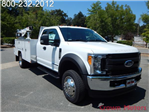 2017 F-550 Super Cab DRW 4x4,  Scelzi Crane Bodies Mechanics Body #17F1094 - photo 16